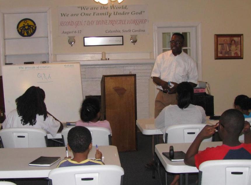 divine principle workshop